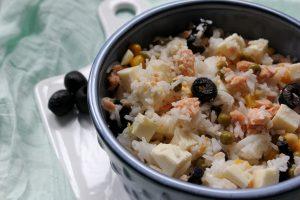 insalata riso particolare
