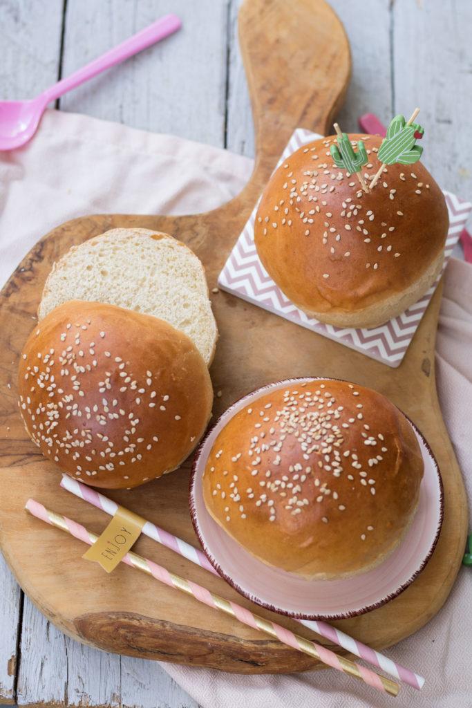 Ricetta Hamburger Panino.Panini Per Hamburger Burger Buns Fornelli Fuori Sede